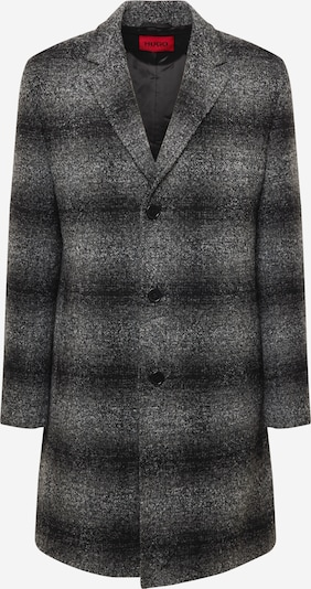 HUGO Mantel in grau / dunkelgrau, Produktansicht