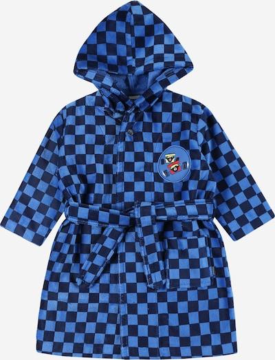 SCHIESSER Badjas in de kleur Blauw / Royal blue/koningsblauw, Productweergave