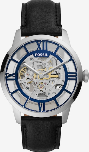 FOSSIL Analoguhr in blau / gold / schwarz / silber / weiß, Produktansicht