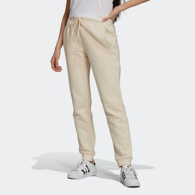 ADIDAS ORIGINALS Workout Pants in Off white, View model