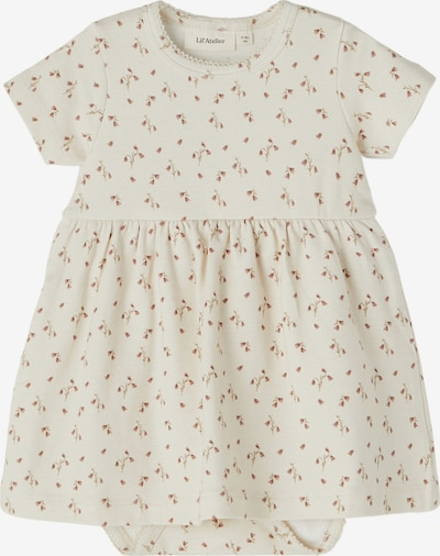 Lil ' Atelier Kids Sukienka 'Gaya' w kolorze stary róż / naturalna bielm, Podgląd produktu