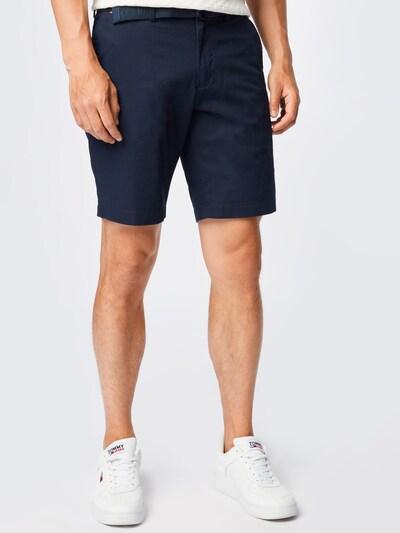 TOMMY HILFIGER Pantalon chino 'BROOKLYN' en bleu nuit, Vue avec modèle