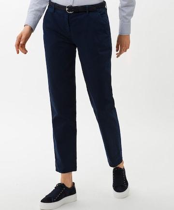 BRAX Chino Pants 'Mel' in Blue