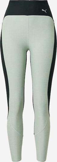 PUMA Workout Pants in Light green / Dark green, Item view