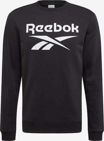 Sweat de sport Reebok Sport en noir