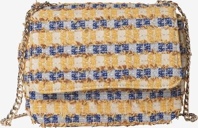 BeckSöndergaard Tasche 'Checksy Loel' in royalblau / goldgelb / weiß, Produktansicht