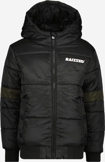 Raizzed Jacke 'TAIPING' in dunkelgrün / schwarz / weiß, Produktansicht