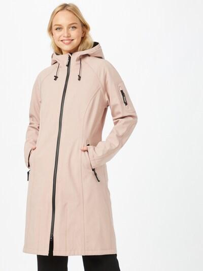 ILSE JACOBSEN Between-seasons coat in Rose, View model