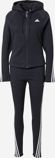 Treniruočių kostiumas 'ENERGY' iš ADIDAS PERFORMANCE, spalva – juoda / balta, Prekių apžvalga