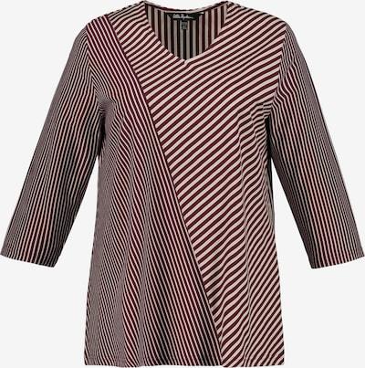 Ulla Popken Shirt in dunkelrot: Frontalansicht