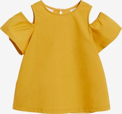 MANGO KIDS Majica u žuta: Prednji pogled
