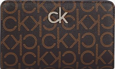 Calvin Klein Portemonnaie in hellbraun / dunkelbraun, Produktansicht