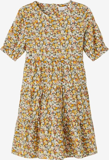 NAME IT Robe 'Hissine' en mélange de couleurs / orange, Vue avec produit