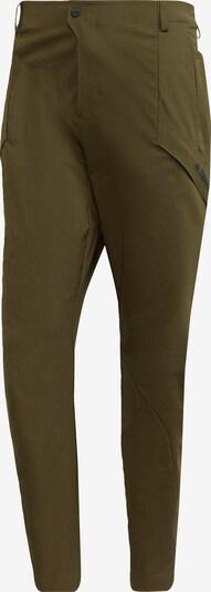 adidas Terrex Pantalon de sport 'Terrex Hikerelax' en vert / noir, Vue avec produit