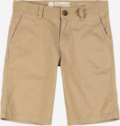 ELEMENT Shorts 'HOWLAND' in sand, Produktansicht