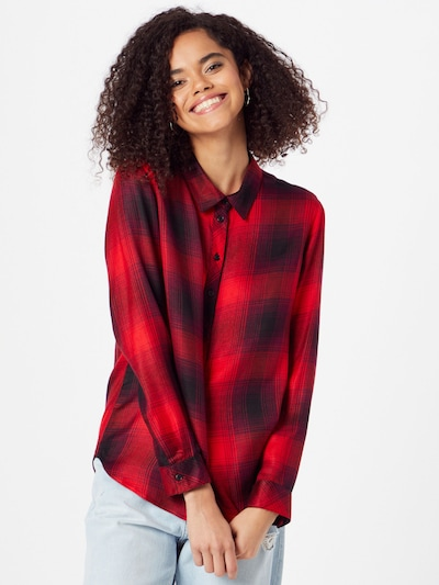 ONLY Blouse 'Riley' in Red / Black, View model