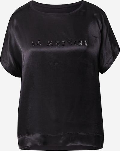 La Martina Tričko 'SWR001RA107' - černá / stříbrná, Produkt