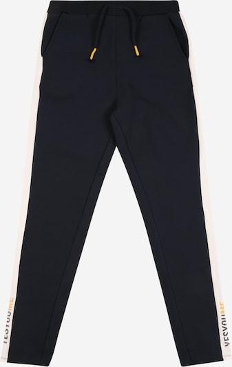 NAME IT Pantalon en bleu foncé / blanc, Vue avec produit