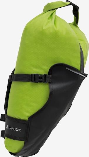 VAUDE Satteltaschen 'Trailsaddle' in kiwi / schwarz, Produktansicht