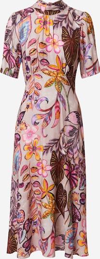 Closet London Robe en mélange de couleurs / rose ancienne, Vue avec produit