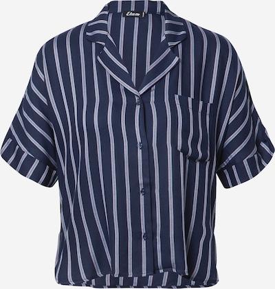 ETAM Slaapshirt 'MADDY' in de kleur Lichtblauw / Donkerblauw / Rosa, Productweergave
