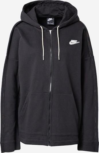 fekete / fehér Nike Sportswear Tréning dzseki, Termék nézet