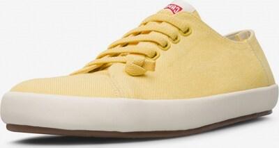 CAMPER Baskets basses ' Peu Rambla Vulcanizado ' en jaune, Vue avec produit