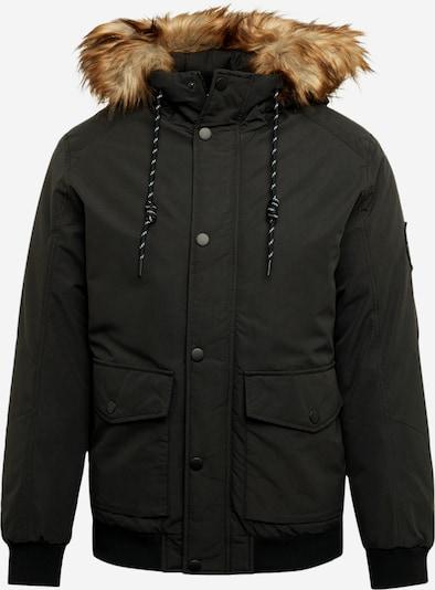 JACK & JONES Zimní bunda 'Sky' - černá: Pohled zepředu