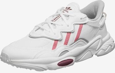 ADIDAS ORIGINALS Låg sneaker 'Ozweego' i röd / svart / vit, Produktvy