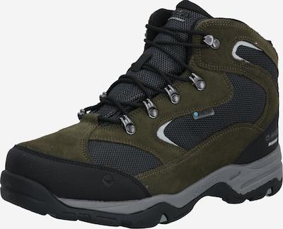 Auliniai batai iš HI-TEC , spalva - pilka / alyvuogių spalva / juoda, Prekių apžvalga