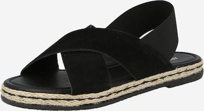 Sandale 'Nadja' ABOUT YOU pe negru, Vizualizare produs