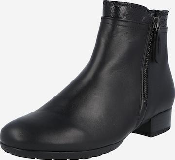 GABOR Ankle boots σε μαύρο