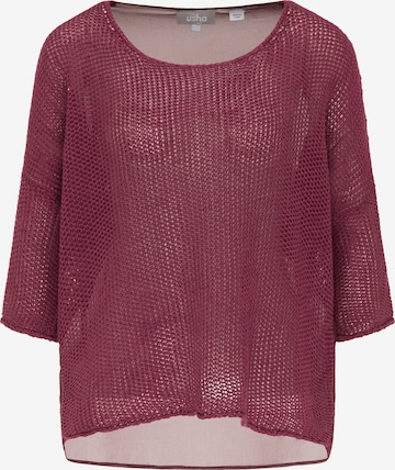 Usha Pullover in Rot