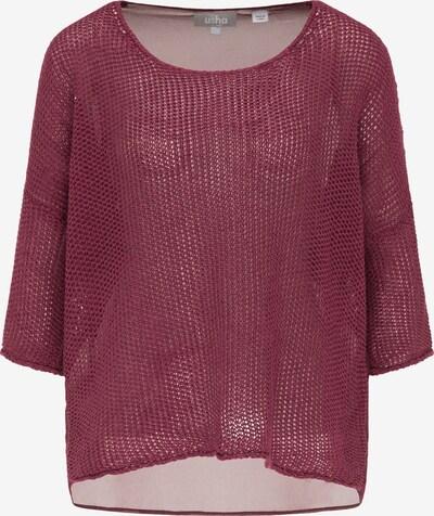 Usha Pullover in burgunder, Produktansicht