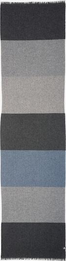 Marc O'Polo Schal in blau / grau / schwarz, Produktansicht