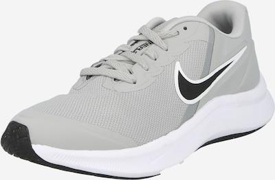 NIKE Sportschuh 'Star Runner 3' in grau / schwarz / weiß, Produktansicht