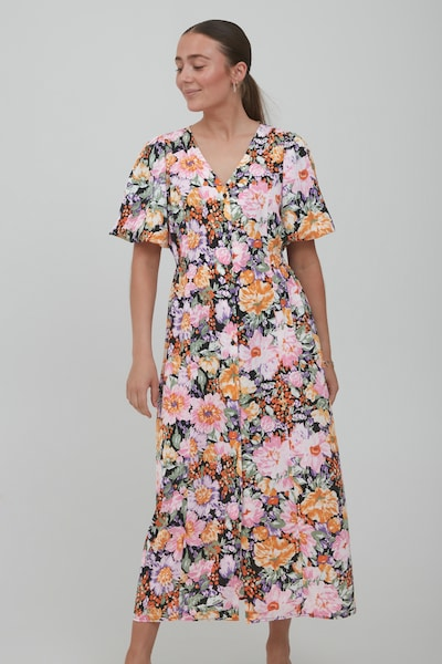 ICHI Sommerkleid 'IXFILIPPA DR' in mischfarben, Modelansicht