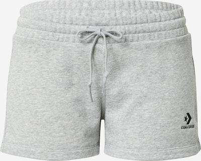 CONVERSE Shorts in hellgrau / schwarz, Produktansicht