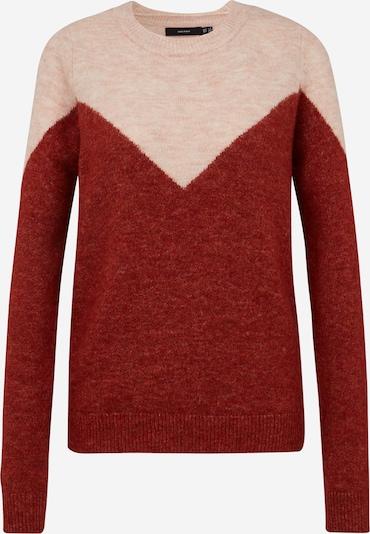 Vero Moda Tall Pullover 'PLAZA' in rosa / weinrot, Produktansicht