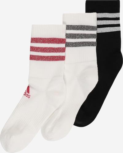 ADIDAS PERFORMANCE Sportsokken in de kleur Rood / Zwart / Zilver / Wit, Productweergave