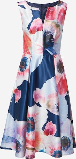 SWING Robe de cocktail en azur / bleu foncé / violet clair / mélange de couleurs / rose ancienne, Vue avec produit