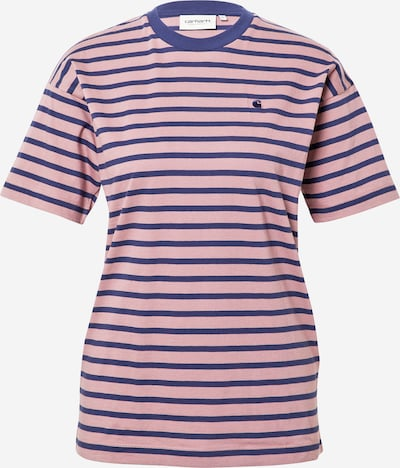Carhartt WIP Shirt 'Robie' in de kleur Navy / Oudroze, Productweergave
