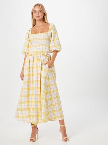 Résumé Kleit 'Ebony', värv kollane