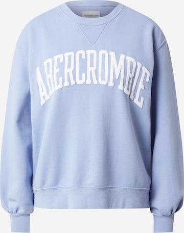 Abercrombie & Fitch Sweatshirt in Blau