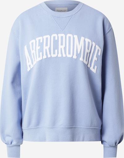 Abercrombie & Fitch Sweatshirt i ljusblå / vit, Produktvy