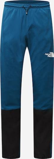 THE NORTH FACE Outdoorbroek in de kleur Pastelblauw / Zwart / Wit, Productweergave