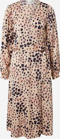 SECOND FEMALE Kleid in beige / braun / rot / schwarz, Produktansicht