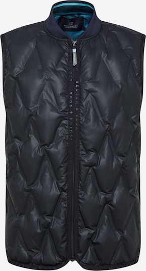 SCOTCH & SODA Weste in nachtblau / schwarz, Produktansicht