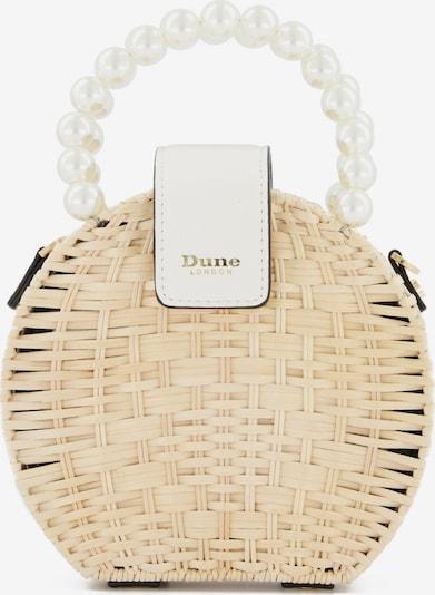 Dune LONDON Handtasche 'DUSTIIN' in beige / weiß, Produktansicht