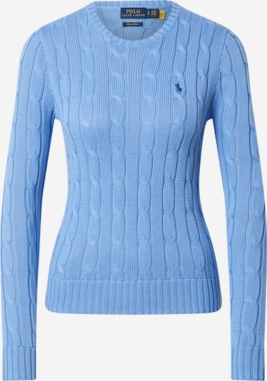 POLO RALPH LAUREN Sweater 'JULIANNA' in Smoke blue: Frontal view